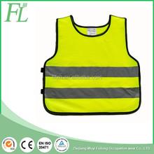 High visible polyester Safety Vest for children