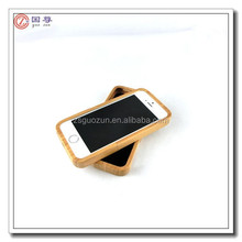 New design hot sale bamboo mobile phone cover case,mobile phone housing,cell phone case