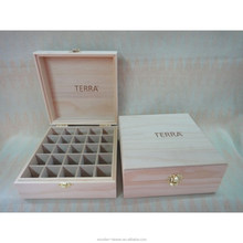 Customized several comprtment wooden box