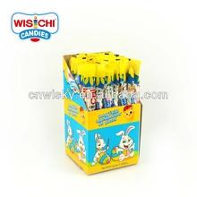 Halal wisichi 8.5g algodón de azúcar largo de dulces de pascua
