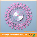 Grande ferro forjado relógio de parede decorações de parede
