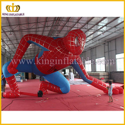 Hot selling giant inflatable spider-man inflatable Hollywood cartoon spiderman