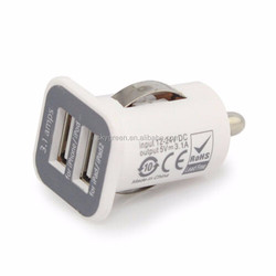 Good price 5v 2.1amp universal cell phone charger car charger with usb