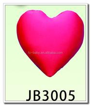 Red heart shaped cushion