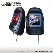 Headrest Car DVD Player with 7-inch TFT Screen, 12V DC Power Supply