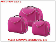 BS601nylon shangdong silk polyester beauty cases/makeup bags