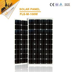 Guangzhou Factory 1kw high performance solar panels for home electricity