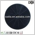 Filtro de carbón aire campana redonda