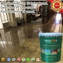 Maydos dustfree heavy duty liquid epoxy for car parking and warehouse floor coating