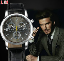 Leather DW 2014 New trend wrist watch with waterproof unisex fashion nylon watch for men