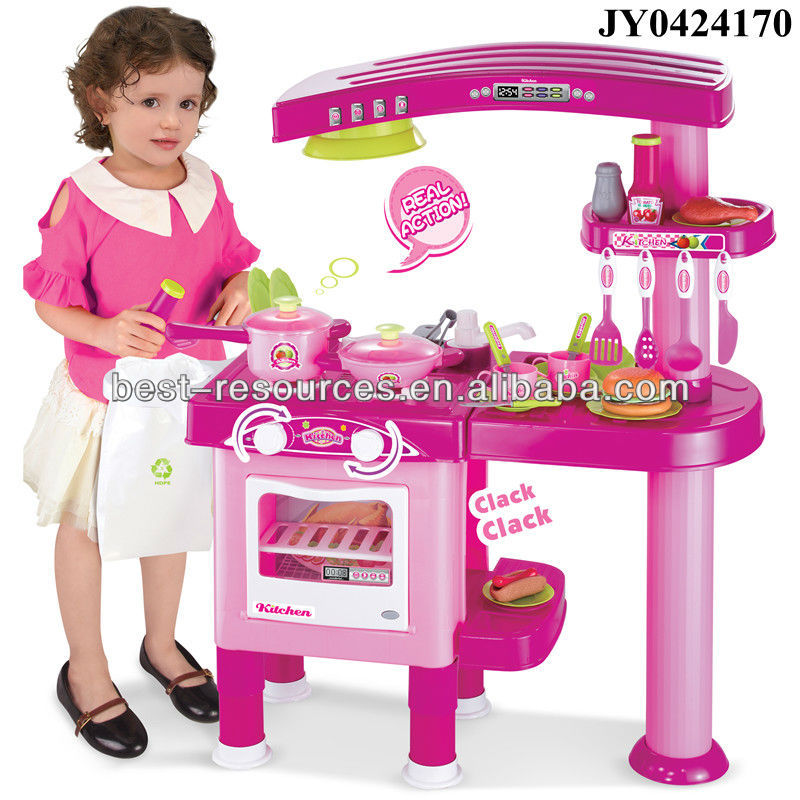 2015 pretend play kids kitchen toys plastic kitchen set kitchen toys