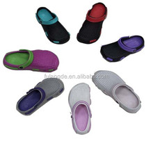 2015 Colorful nursing eva clogs,holey soles clogs