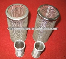 304 100 micron stainless steel filter mesh, perforated cone filter mesh
