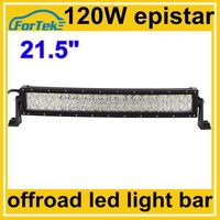 epistar 21.5 inch curved led light bar 120w off road 4wd
