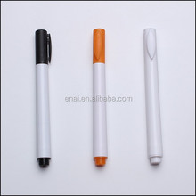 promotional plastic whiteboard chalk marker pen for writing on the glass