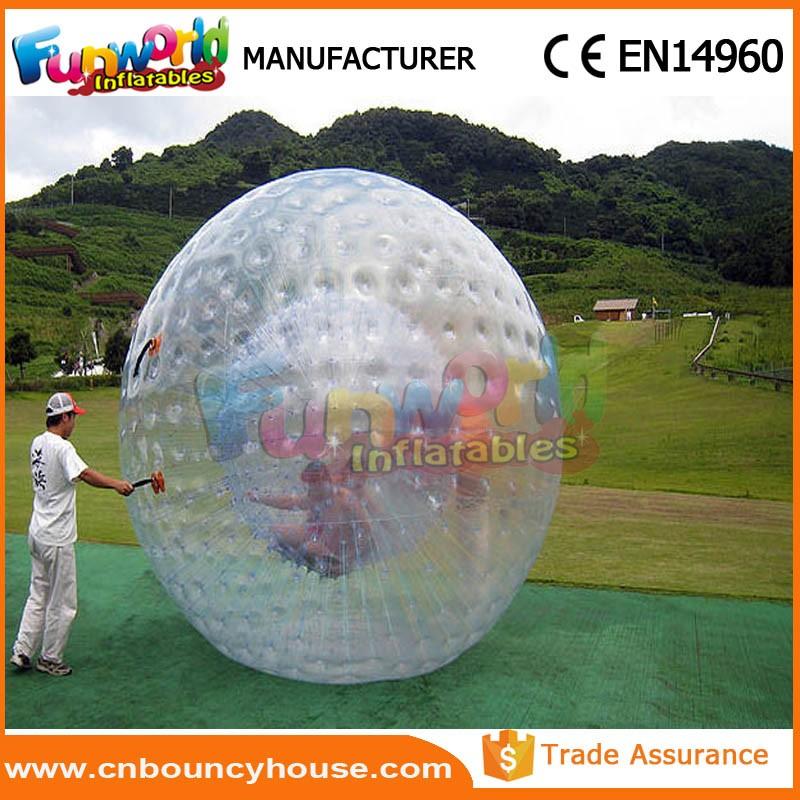 Inflatable grass zorb ball .jpg