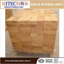Low iron refractory fire bricks for chimney