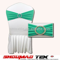 Good price banquet spandex chair sash with buckle