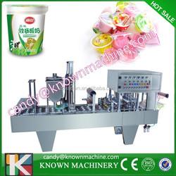 Automatic plastic container sealer