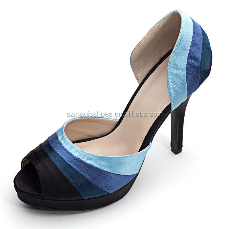 Colorful Bridal Shoes Platform High Heels