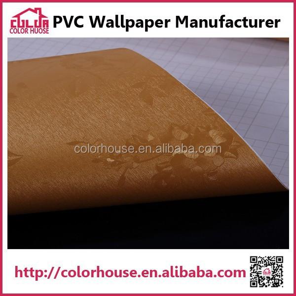 removable gold color tv background wallpaper