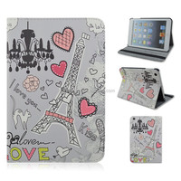 Droplight Tower Flip Stand PU Leather Tablet Cover Case For Apple iPad 2/3/4,For ipad air,For ipad mini 1/2/3 Wholesale