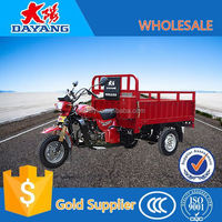 2015 new hot sale 150cc 200cc air cooled gas powered motorcycle truck 3-wheel tricycle