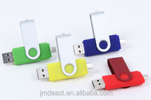 8GB OTG Swivel USB Flash Drive, Mobile Phone USB Pen Drive,Smart Phone U Disk for Android Phone