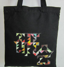 tote bags canvas cotton with zipper/ recycled cotton shopping bag/ jute tote bags