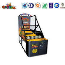 street basketball game machine 2 arcade coin machine electronic basketball game