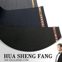 2015 China Woven Wool Polyester Suit Fabric Stocklot