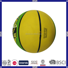 standard size 5 eco-friendly inflatable colorful cheap basketball