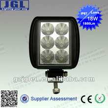 epistar 18w auto led working light bar, 1800Lm aluminum led bar light 9-32V DC, led bar light off road