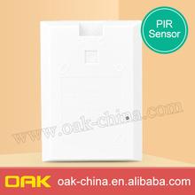 Inalámbrico pir sensor detector de, inalámbrico pir sensor de movimiento sin adaptador
