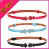 Thin Decorative Belt Korean Wild Female Belt Girl Women Fashion Crony Models Candy Colored Patent Leather Belts