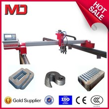 Mini gantry plasma cnc cutting machine with start system for export