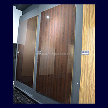 wood grain high gloss uv mdf sheet