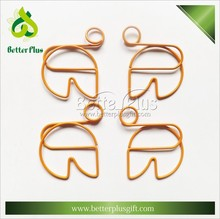 Promotional custom shape decorative paper clips