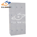 Durable de acero de diseño de la puerta 12 utiliza taquillas/casilleros gimnasio