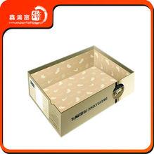 Impression mode et fantaisie cadeau boîte d'emballage en plastique