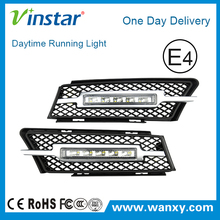 Exact Fit 10w LED Daytime Running Lights Assembly For BMW E90 OE 4/5D