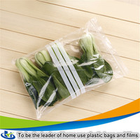 custom plastic zip lock bags plastic lock bags/fresh vegetables packaging plastic bag