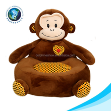 New arrival OEM Customed Soft plush animal monkey sofa chair for Promotional Gift