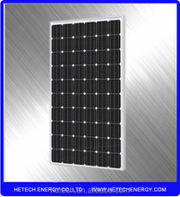 Monocrystalline 250w solar panel price from china supplier
