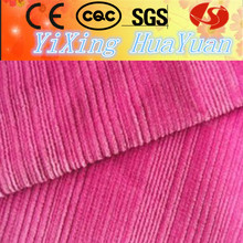 heavy soft woven corduroy fabric make from china for bed sheets