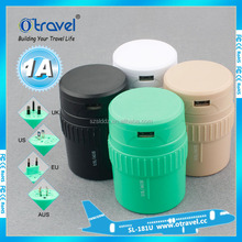 new products 2016 world travel products Travel Adapter plug usb to ac converter plug