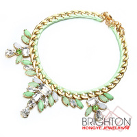 Spring Colorful Opal Bead Collar Necklace N6-7140-6950