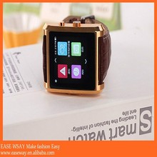 WP001 IOS and android waterproof wrist watch mobile phone , smart watch phone