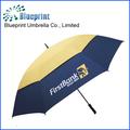 30 pulgadas con ventilación de aire winbreak doble paraguas de tela