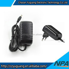 ac adapter 12v 2A, 25W ac dc power supply adapter ROHS, CCC approval AP-2412AE